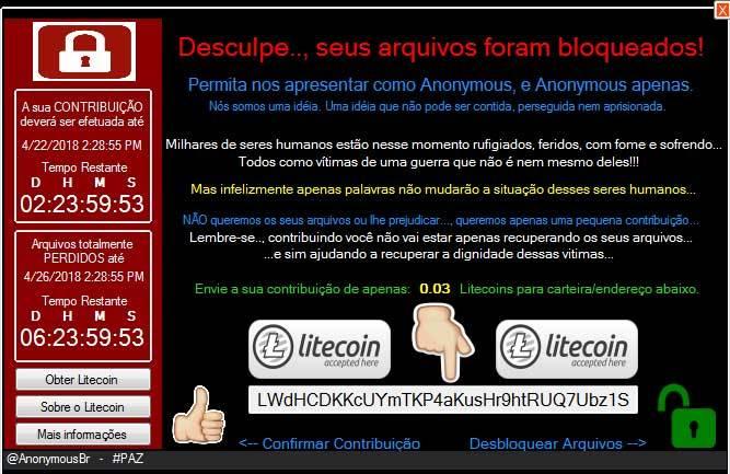 RansSIRIA ransomware
